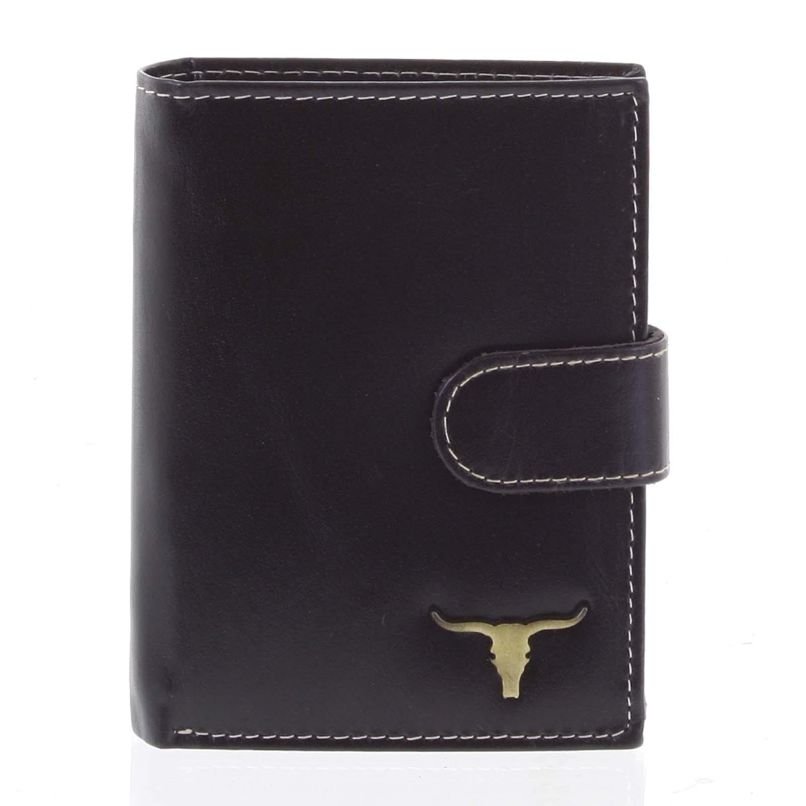 Pánská kožená peněženka černá - BUFFALO Elliott