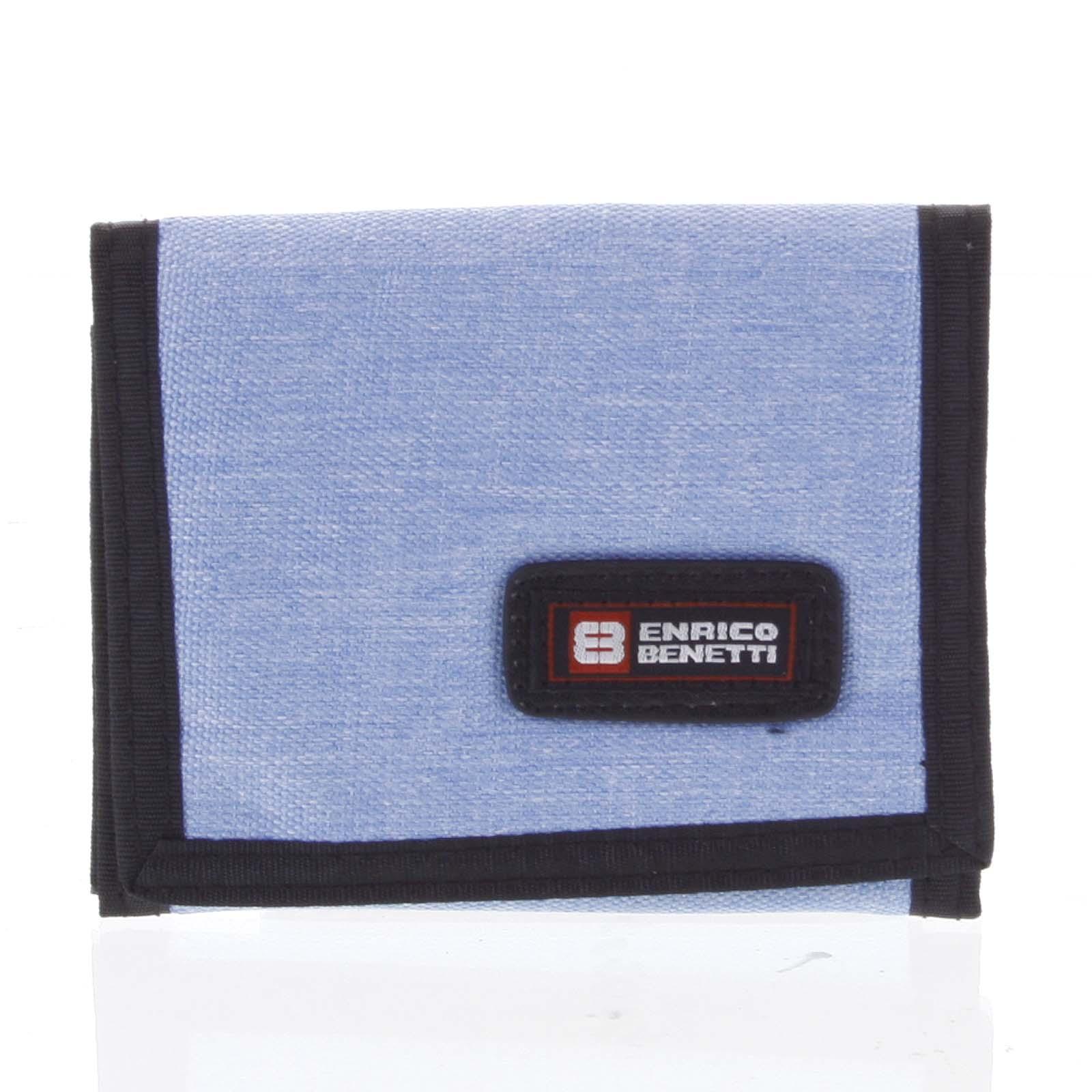 Peněženka látková světle modrá - Enrico Benetti 4600