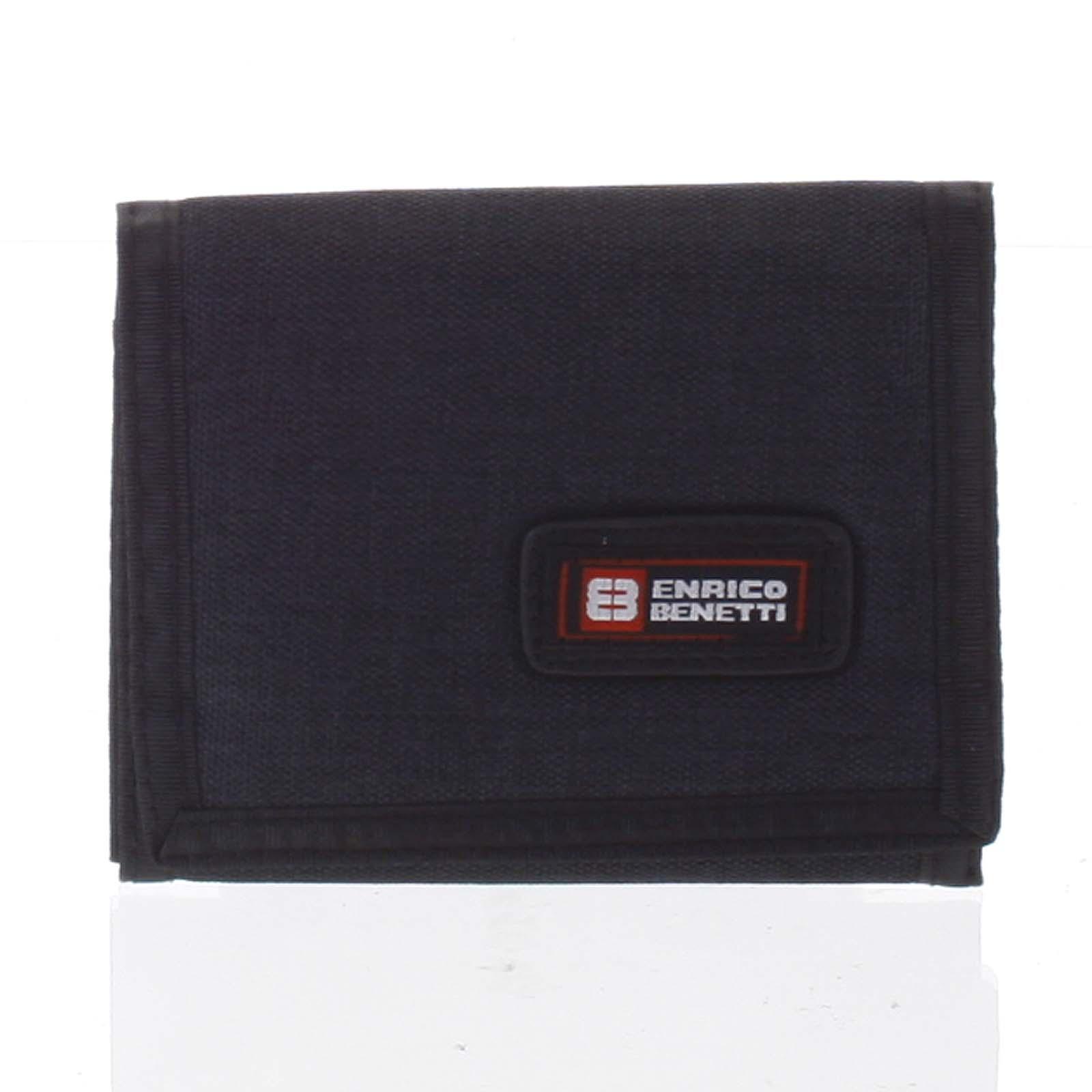 Peněženka látková černá - Enrico Benetti 4600