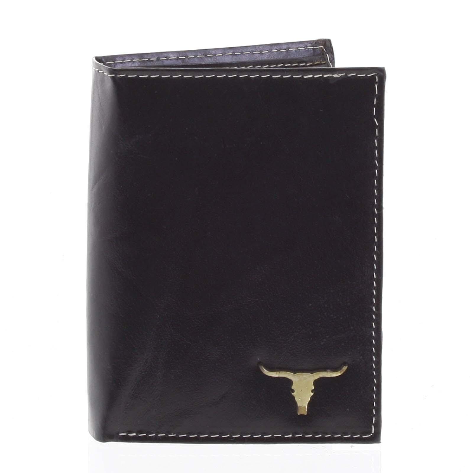 Pánská kožená peněženka černá - BUFFALO Dura