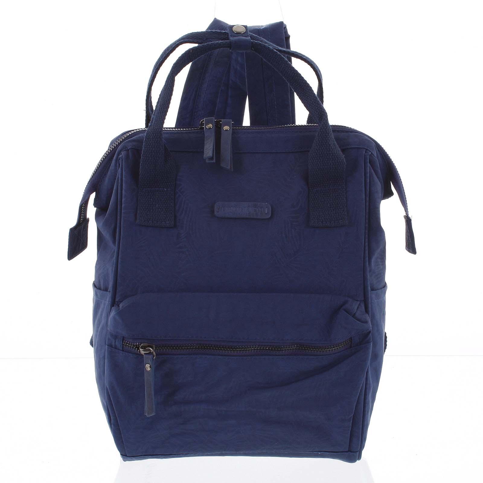 Stylový dámský batůžek modrý - Enrico Benetti Gatam