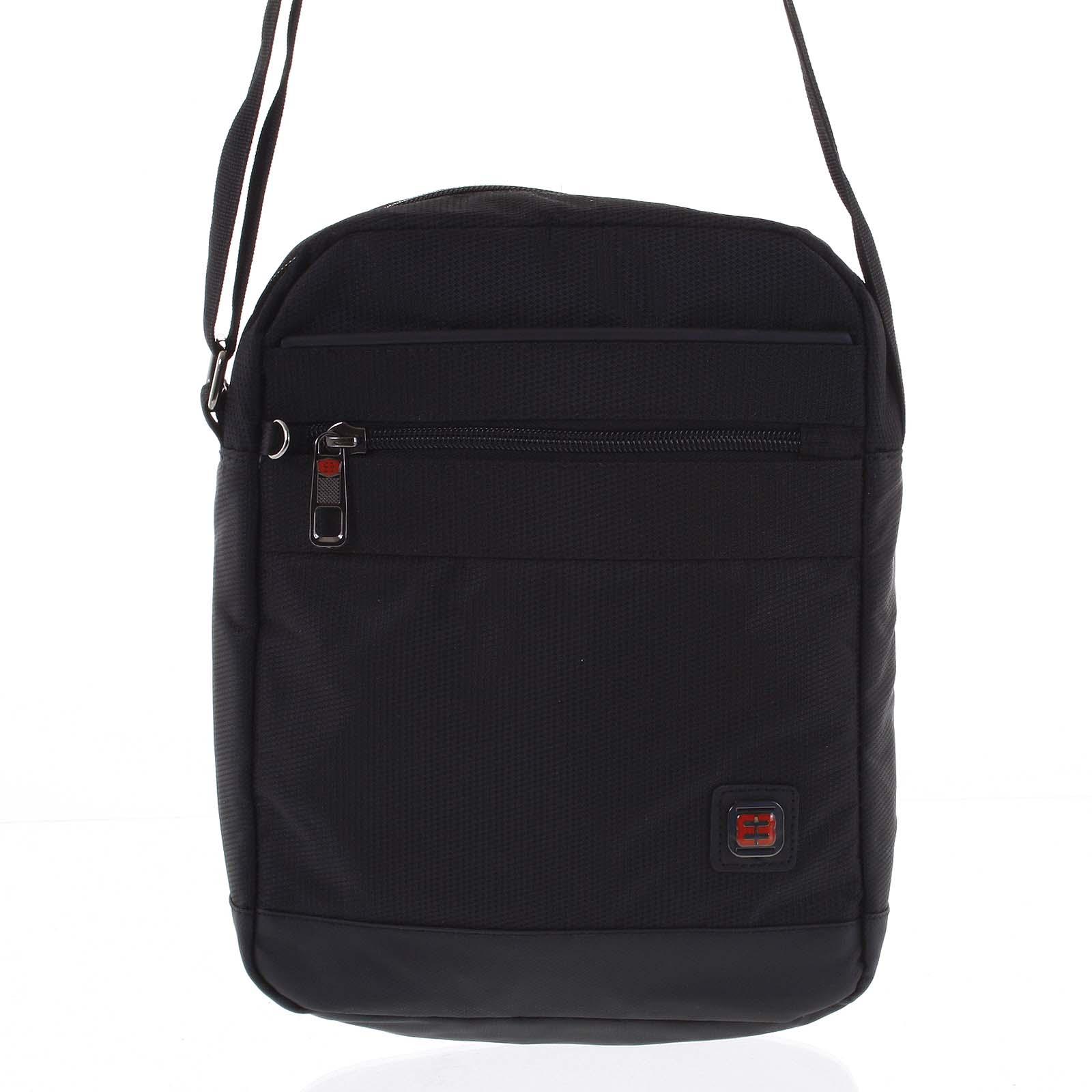 Sportovní taška na doklady černá - Enrico Benetti Romal
