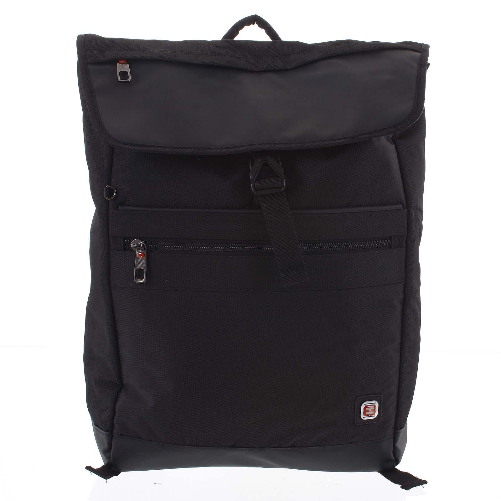 Velký černý batoh - Enrico Benetti Sanjar