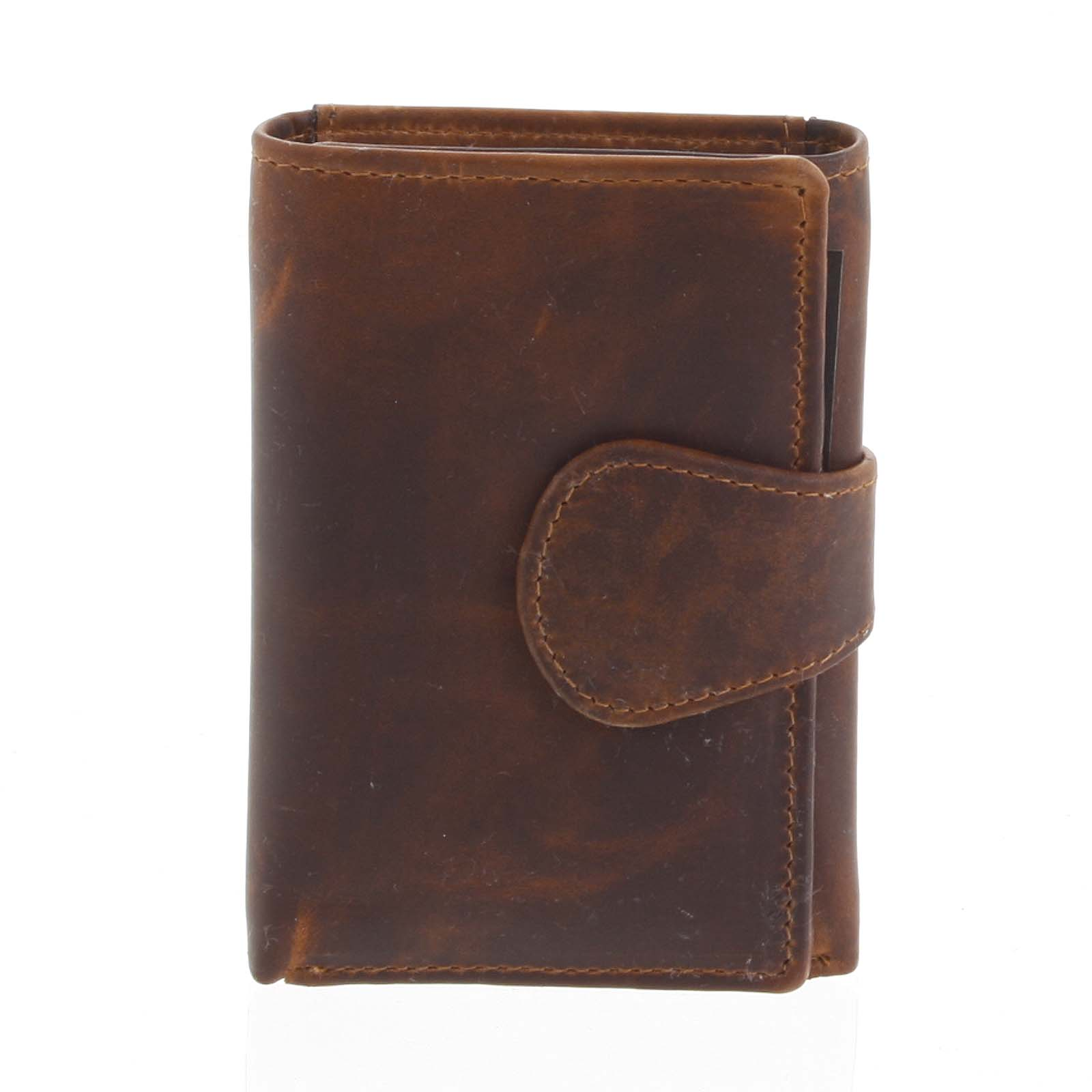 Kožená peněženka hnědá - Tomas Ziggi