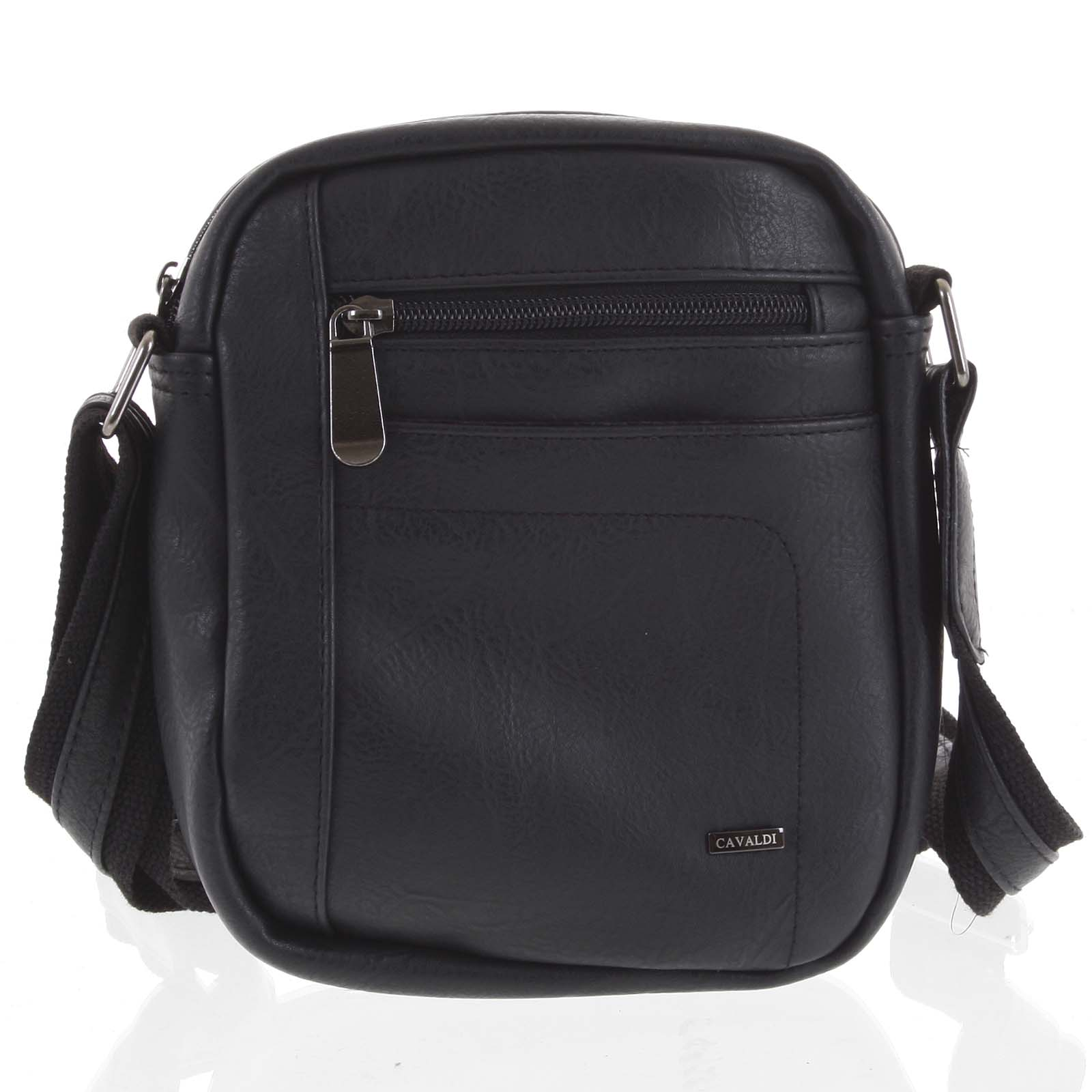 Pánská taška na doklady černá - Cavaldi 8022