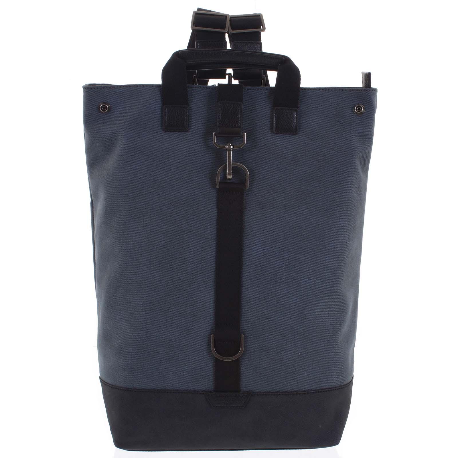 Pánský velký batoh modrý - Hexagona Adrien