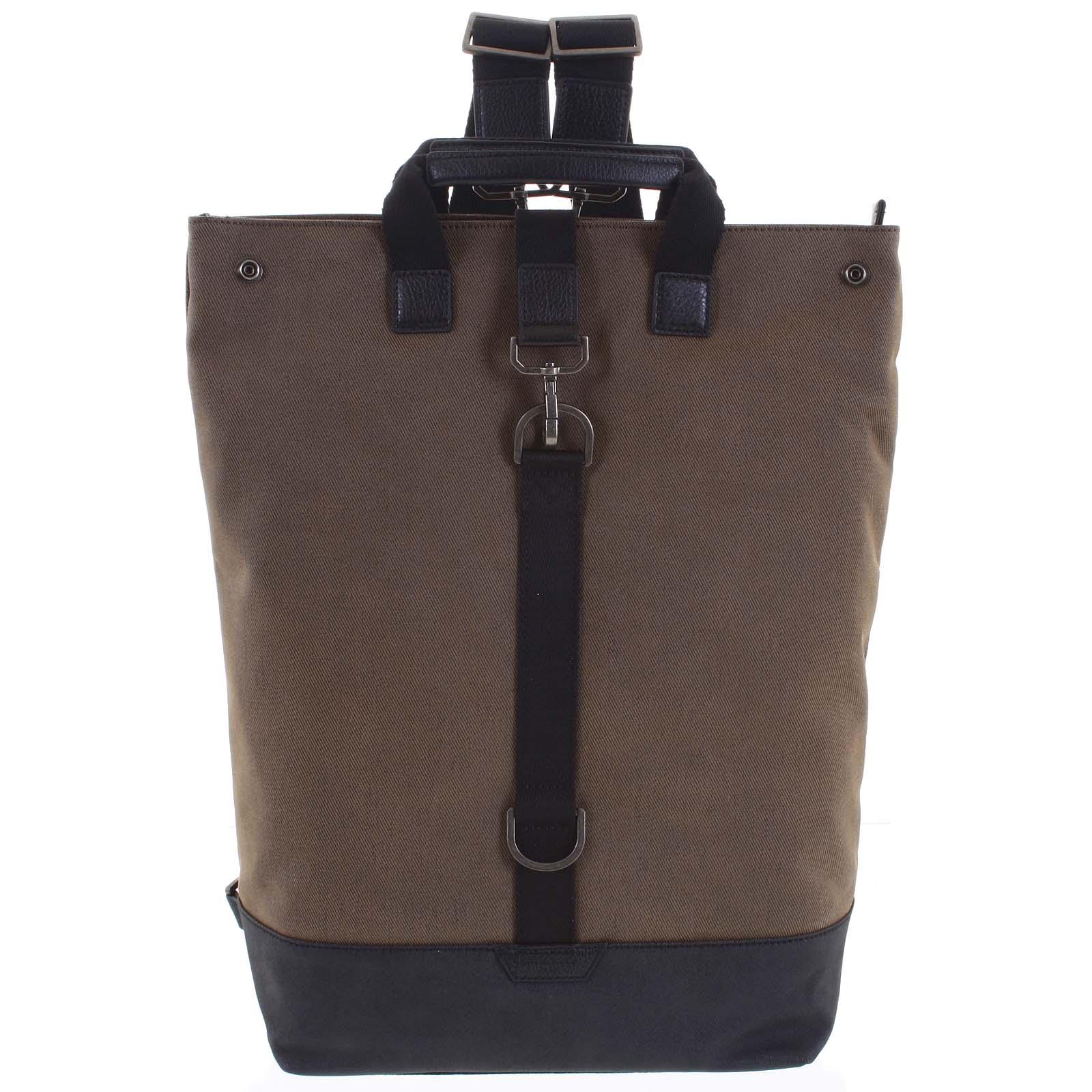 Pánský velký batoh hnědý - Hexagona Adrien