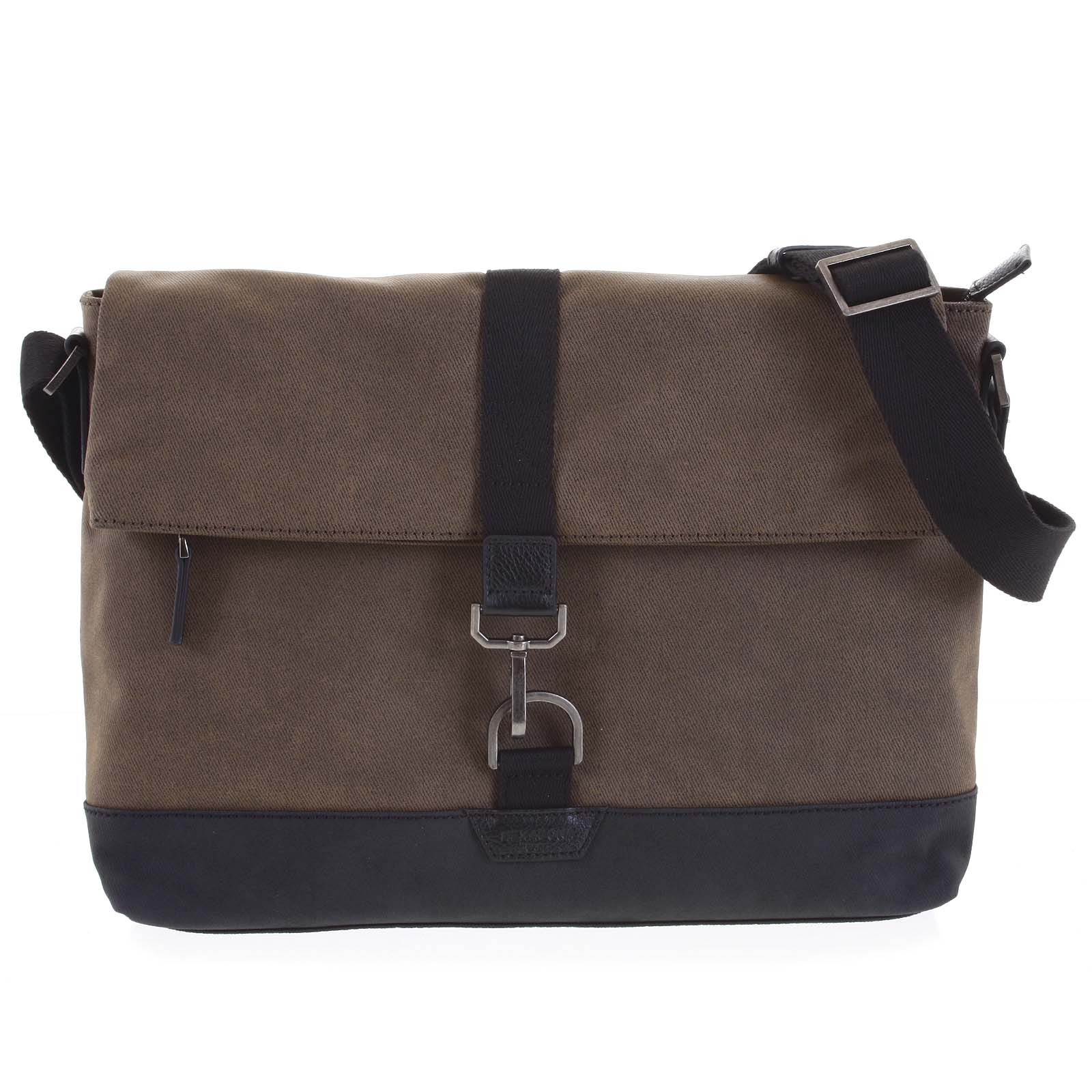 Pánská taška na notebook hnědá - Hexagona Cladrien