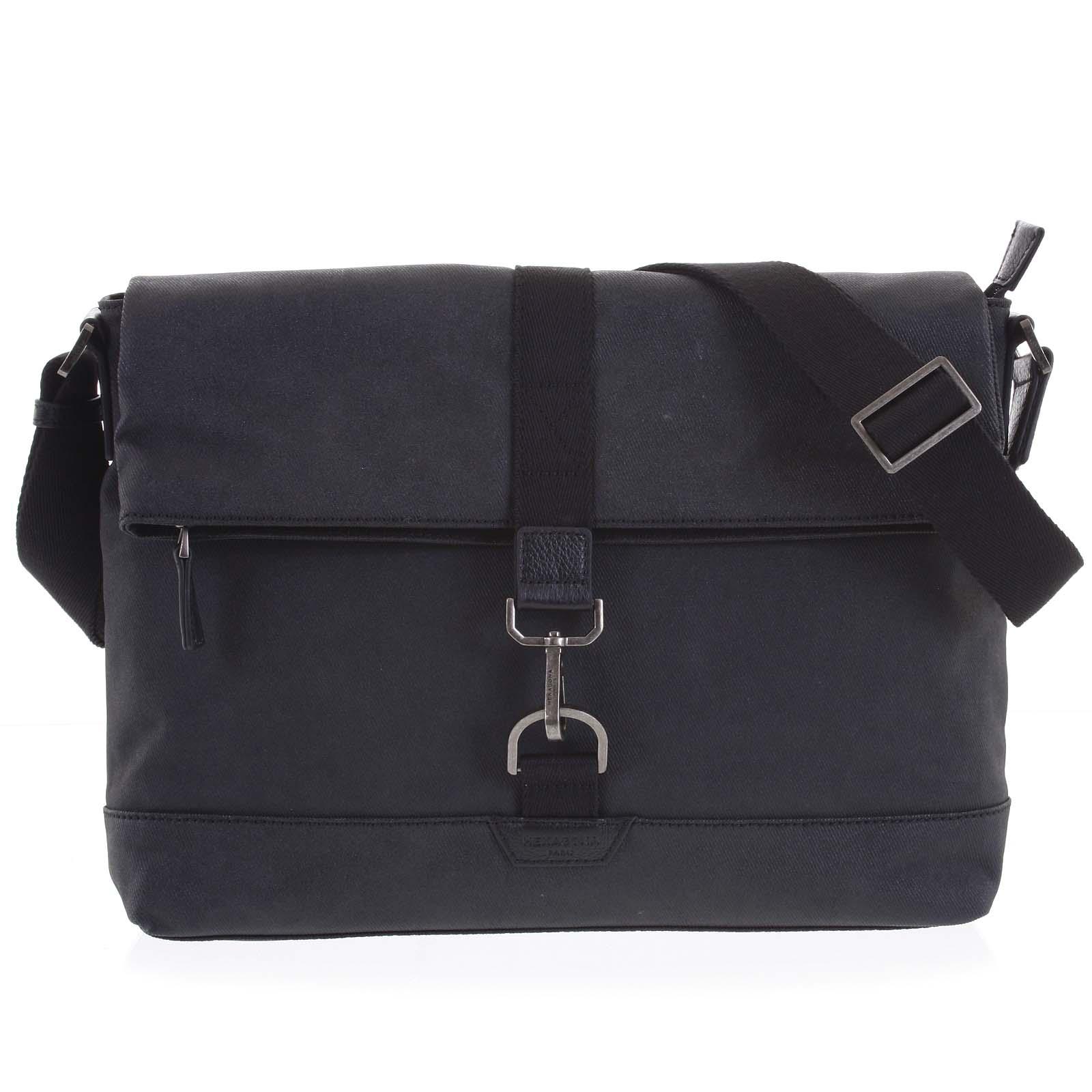 Pánská taška na notebook černá - Hexagona Cladrien