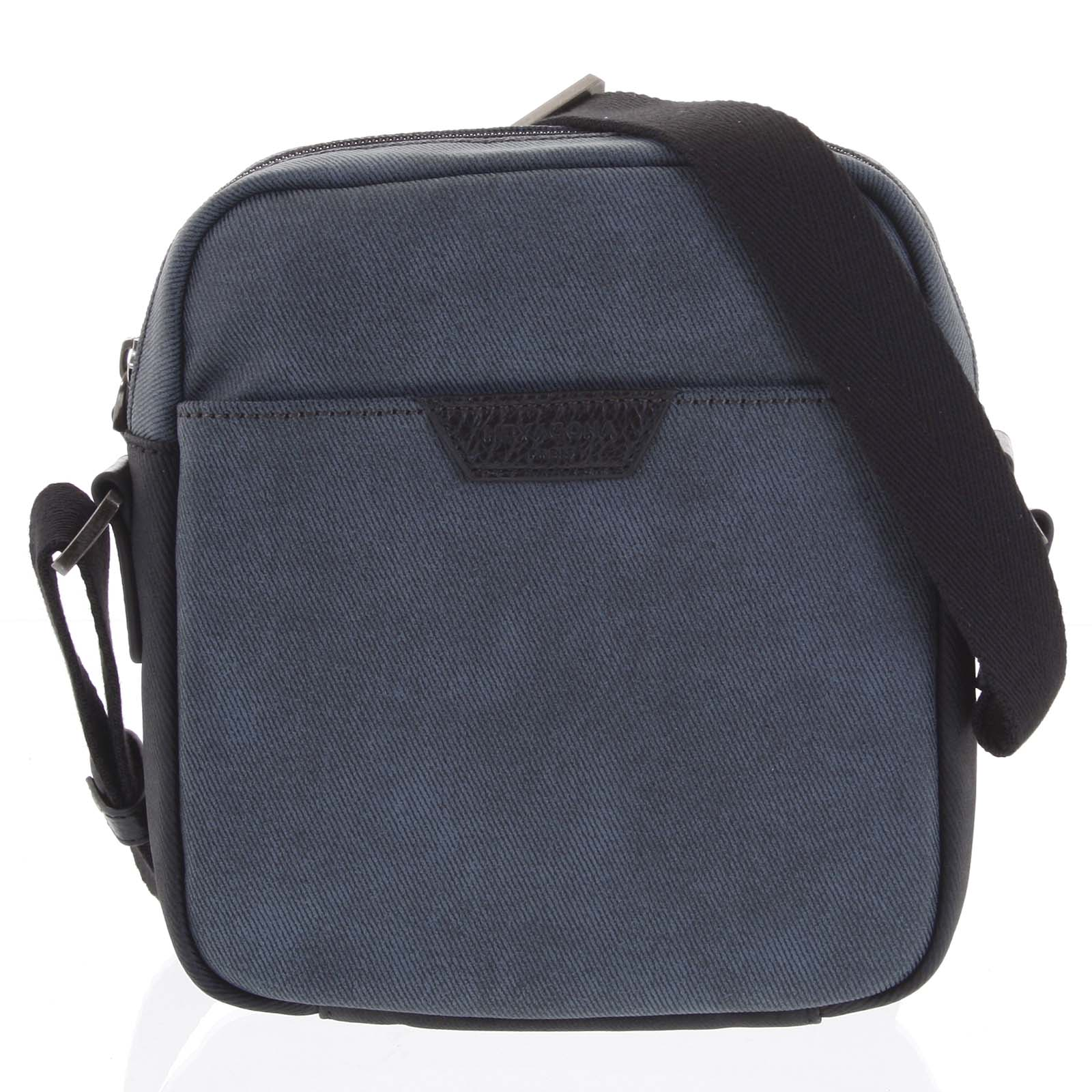 Pánská taška přes rameno modrá - Hexagona Clark