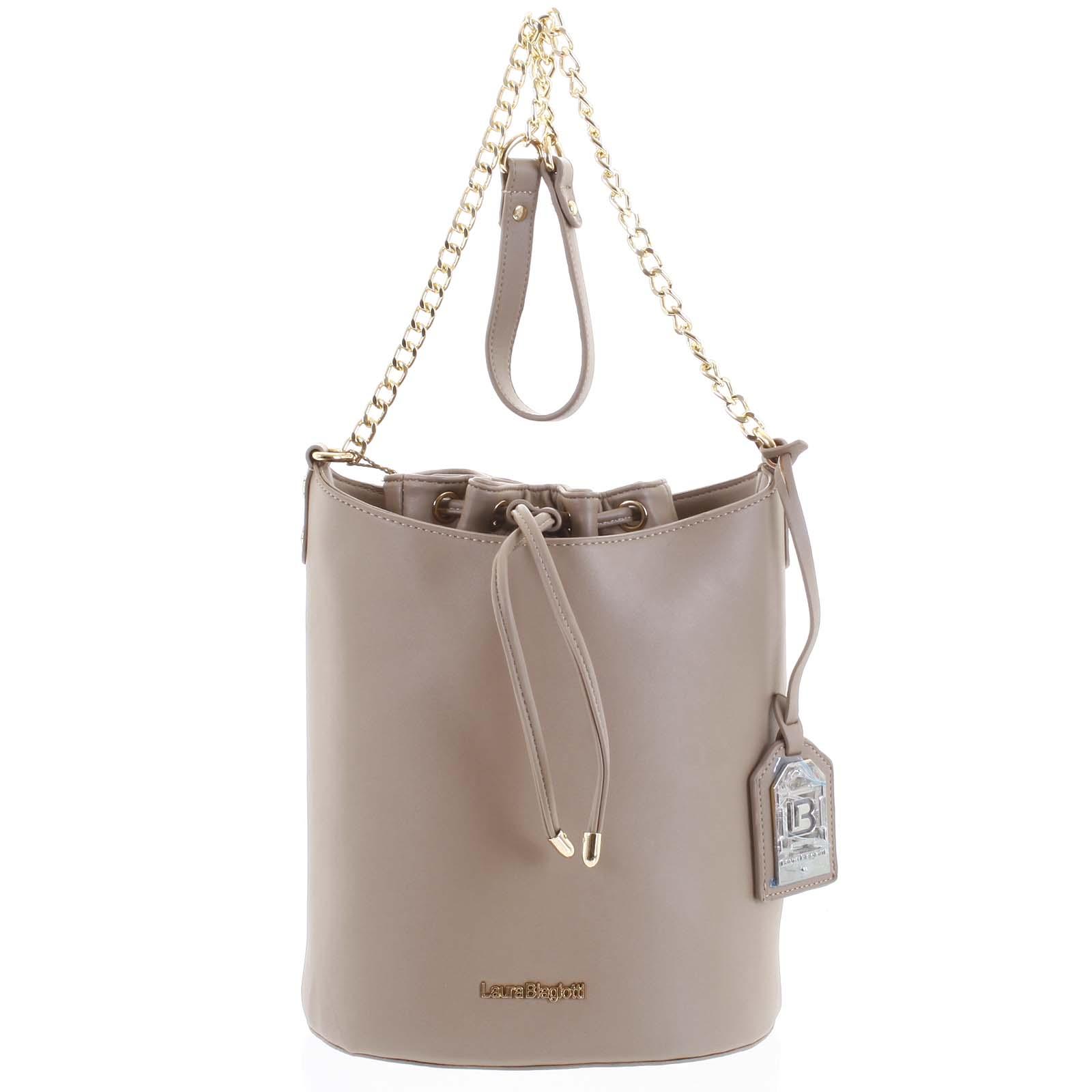 Dámská kabelka přes rameno camel - Laura Biagiotti Vivienne