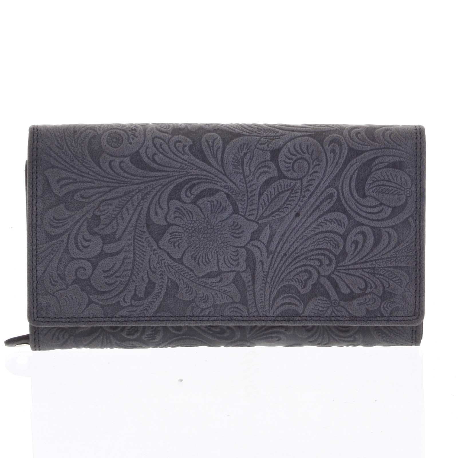Dámská kožená peněženka černá - Tomas Imbali