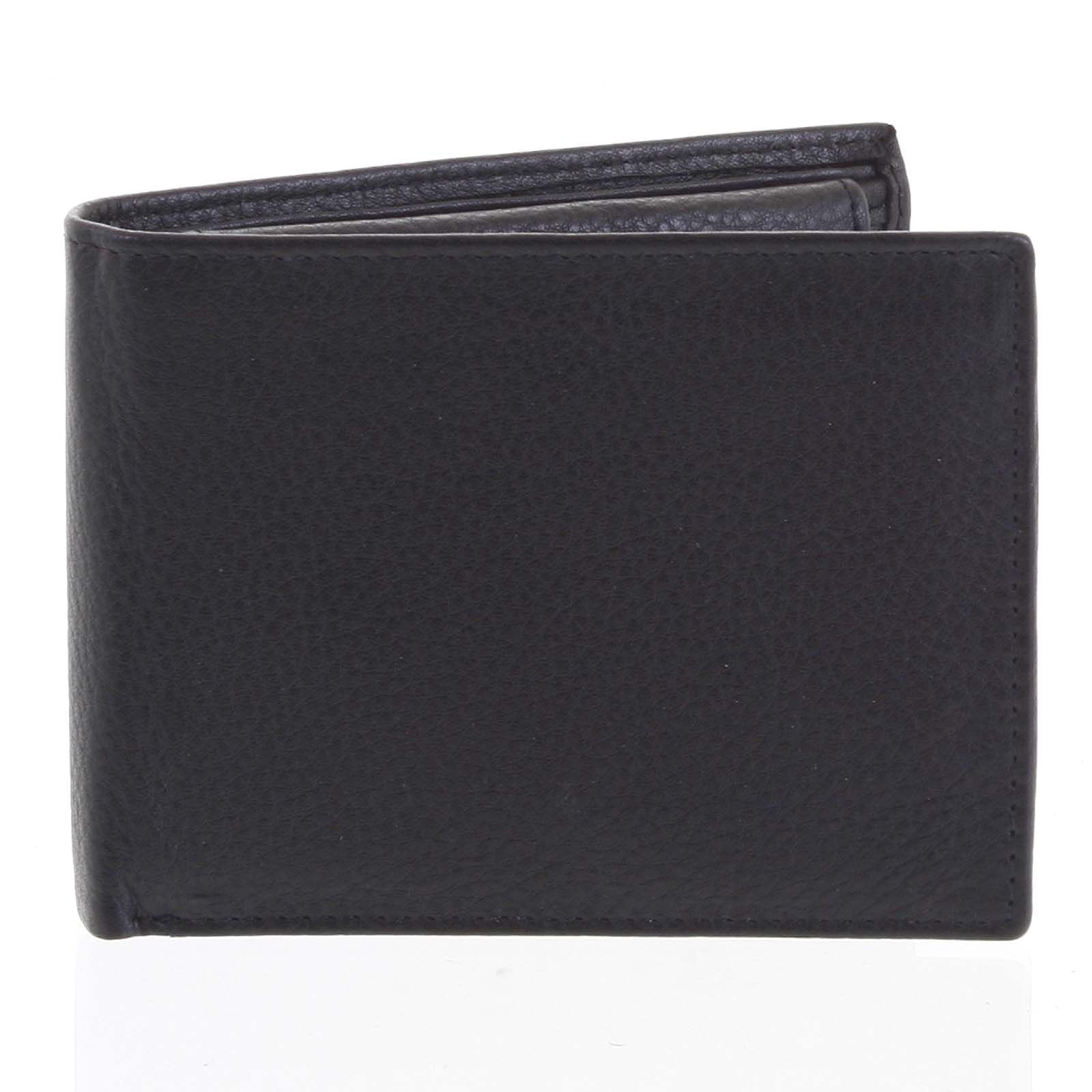 Pánská kožená peněženka černá - Tomas Bushel