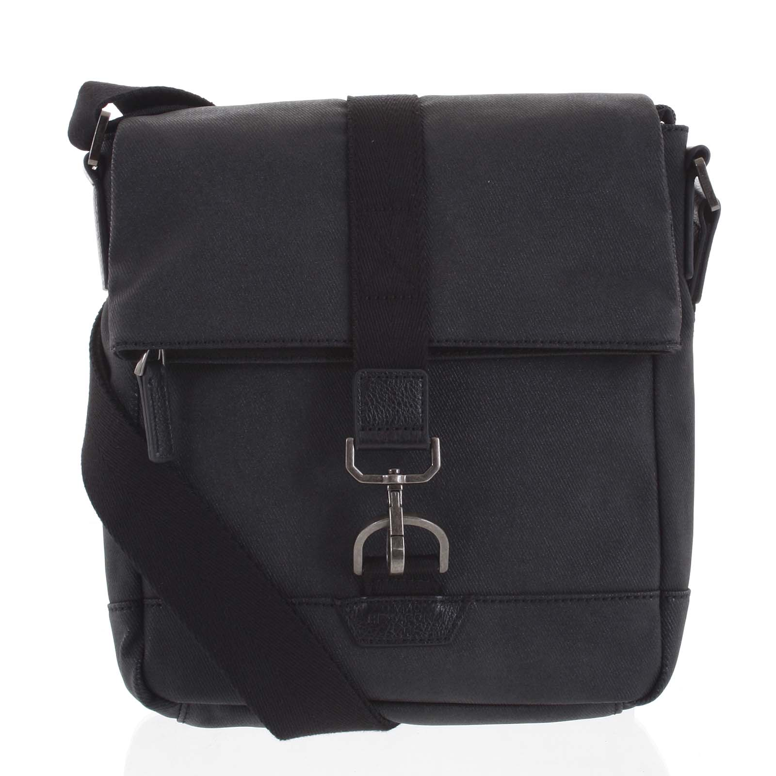 Pánská taška přes rameno černá - Hexagona Bennio