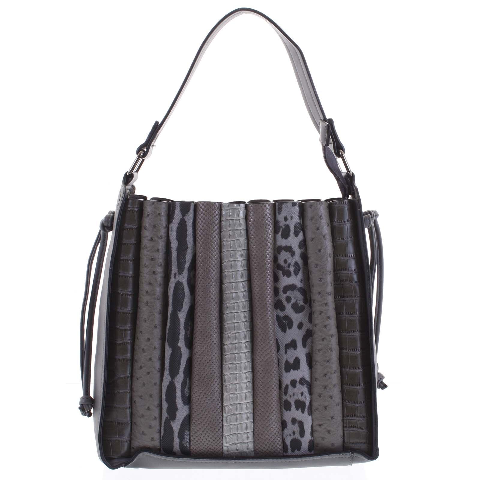 Dámská kabelka přes rameno tmavě šedá - Dudlin Pruet