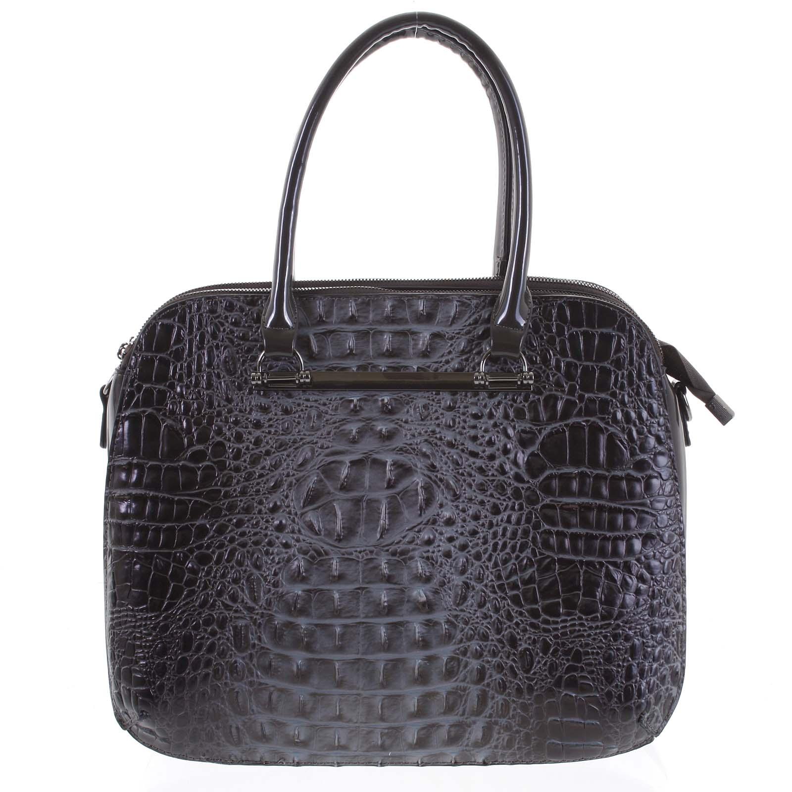 Dámská kabelka do ruky tmavě šedá - Dudlin Lexi