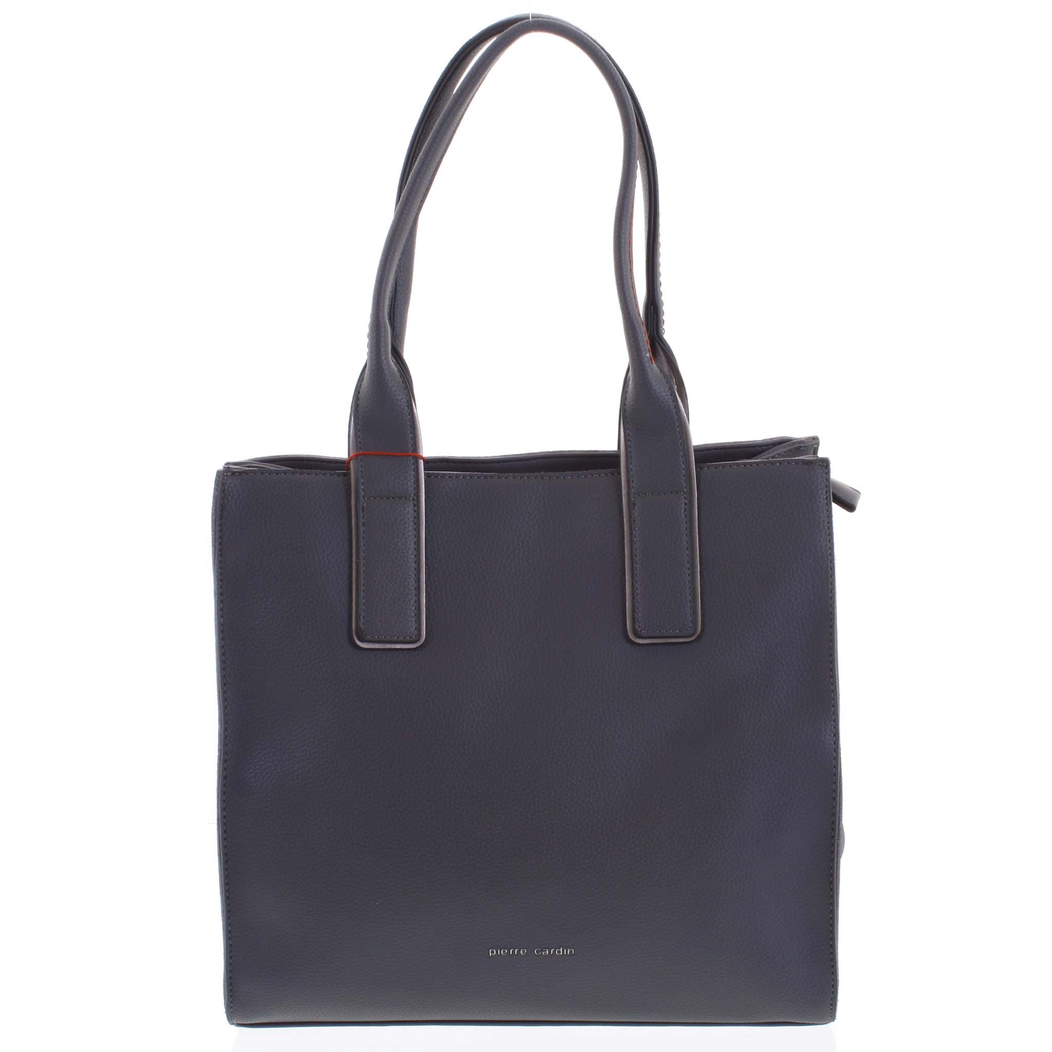 Dámská kabelka přes rameno tmavě šedá - Pierre Cardin Thema