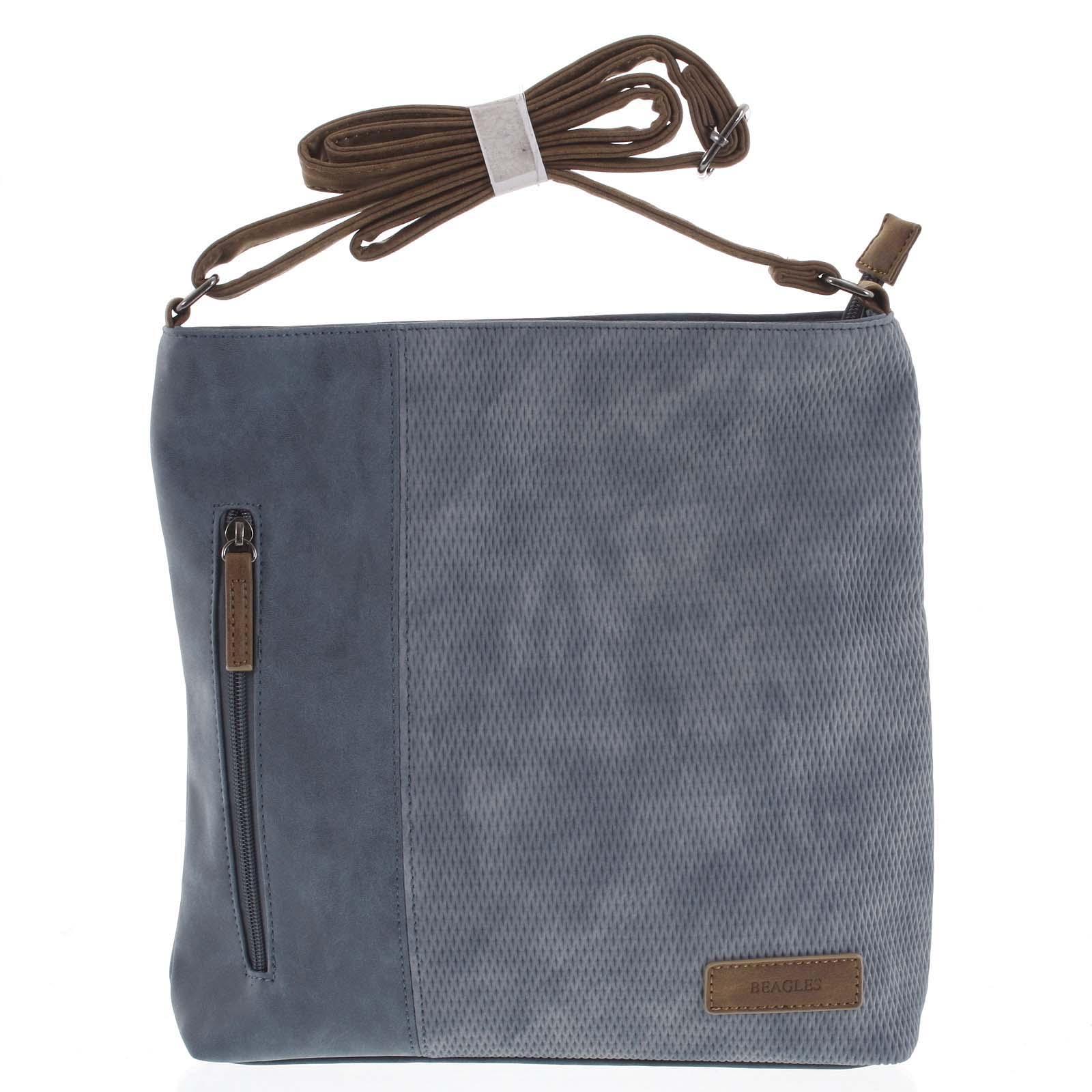 Dámská crossbody kabelka bledě modrá - Beagles Witharmy