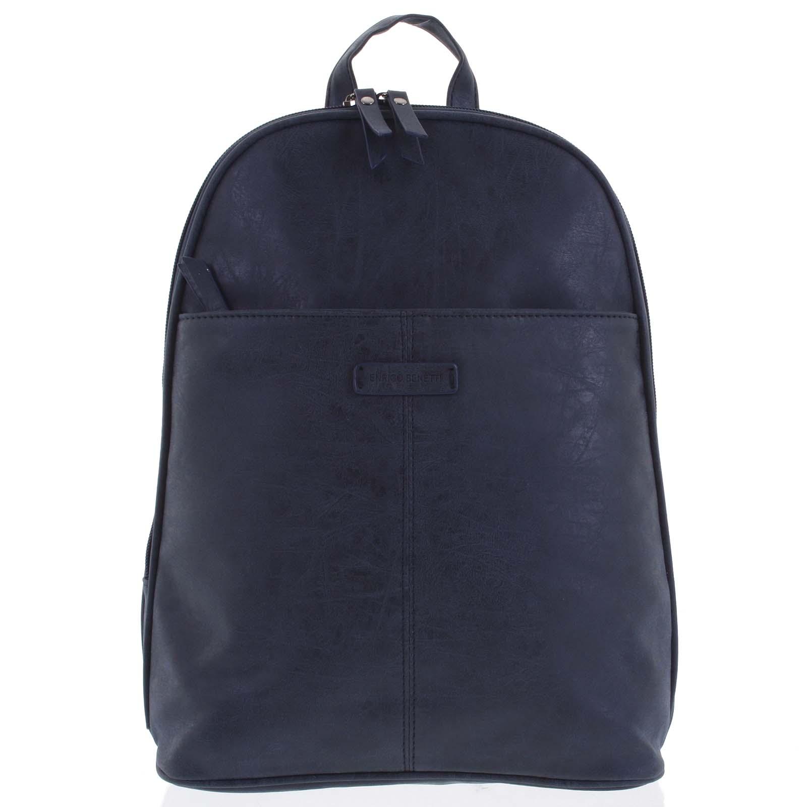 Dámský batoh tmavě modrý - Enrico Benetti Oftime