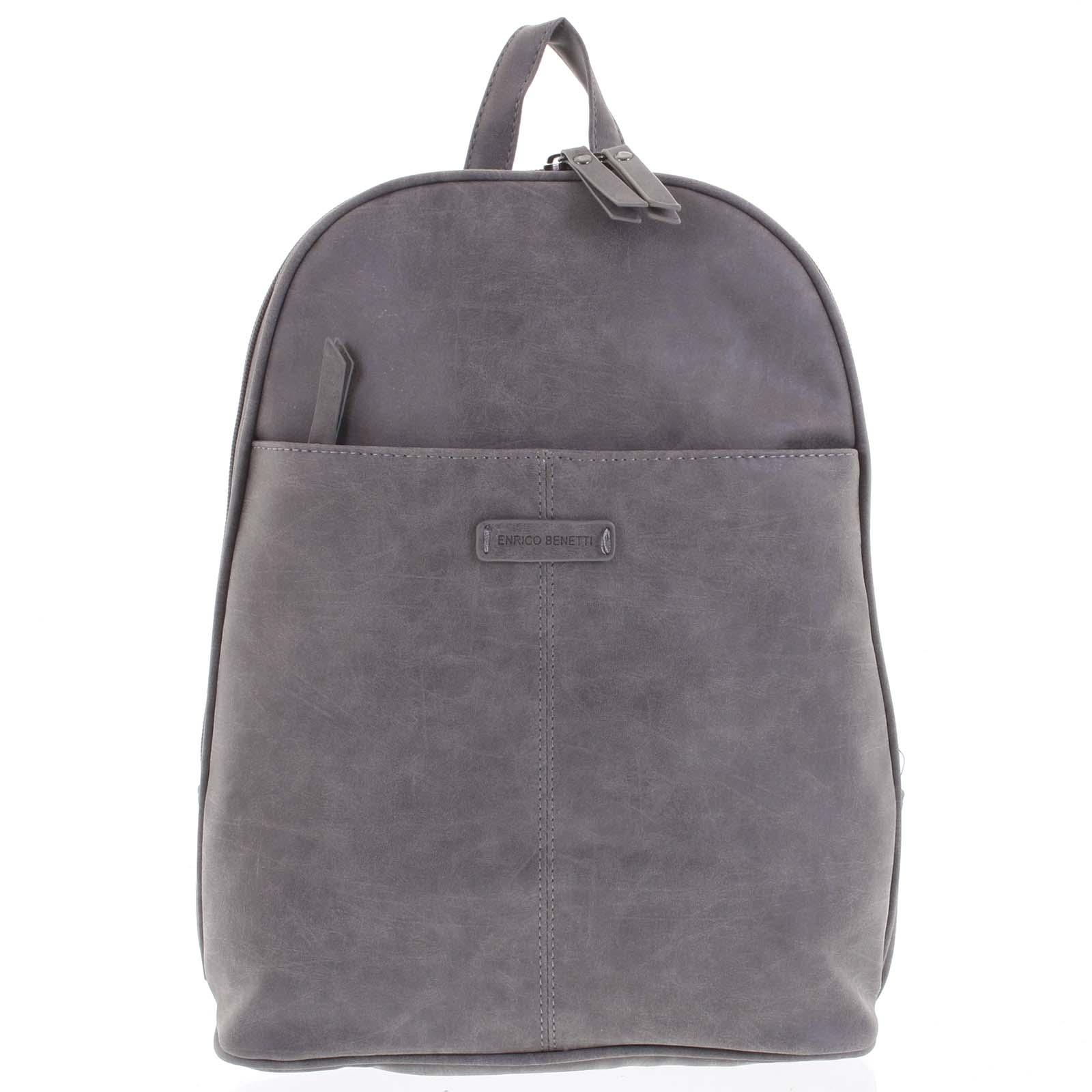 Dámský batoh šedý - Enrico Benetti Oftime