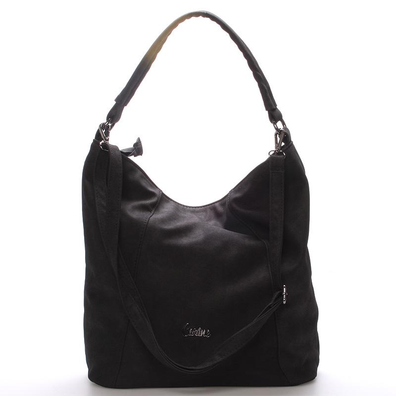 Velká dámská kabelka černá - Carine Macy