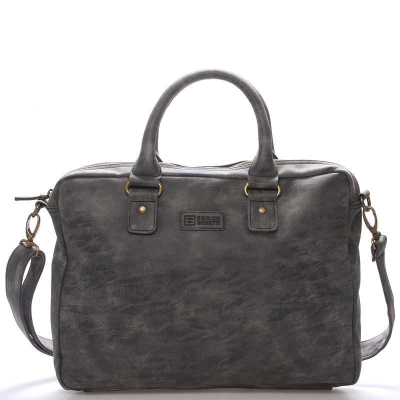 Pánská taška přes rameno černá - Enrico Benetti Raynell