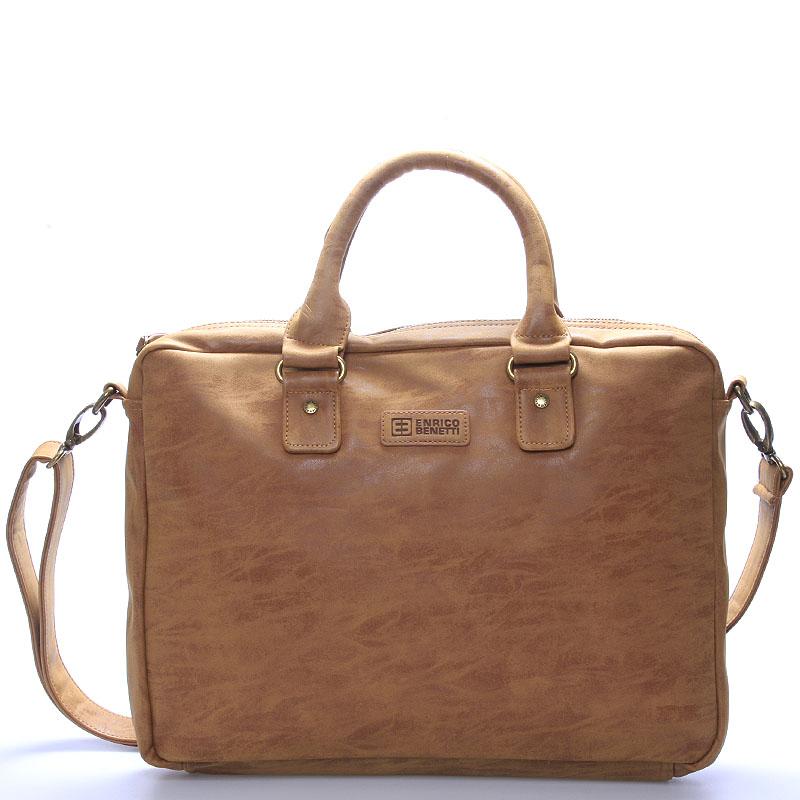Pánská taška přes rameno hnědá - Enrico Benetti Raynell
