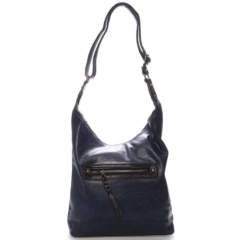 Dámská crossbody kabelka modrá - Delami Madolen