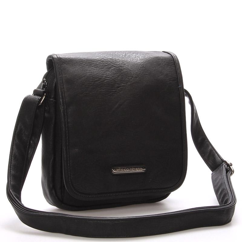 Pánská taška přes rameno černá - Enrico Benetti Dayne