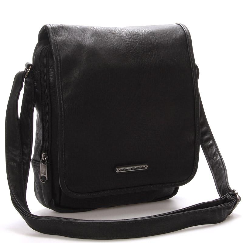 Pánská taška přes rameno černá - Enrico Benetti Gage