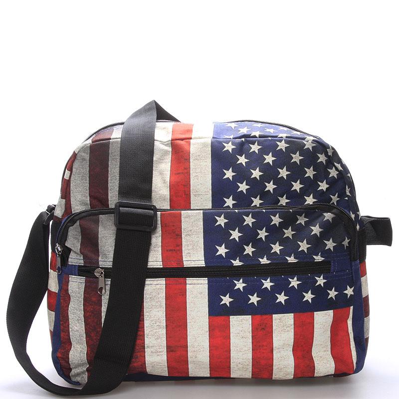 Látková taška přes rameno USA - NEW REBELS Elbridge