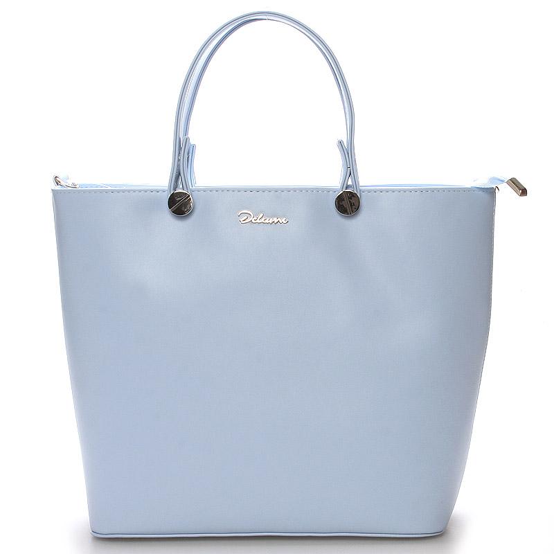 Luxusní světle modrá dámská kabelka - Delami Chantal