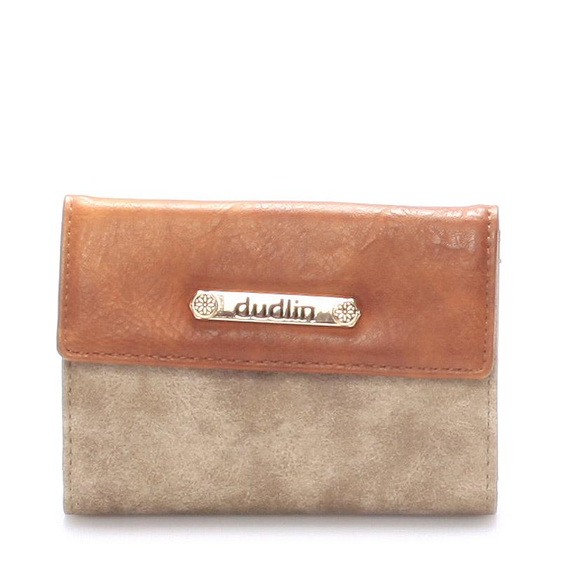 Dámská peněženka taupe - Dudlin M263