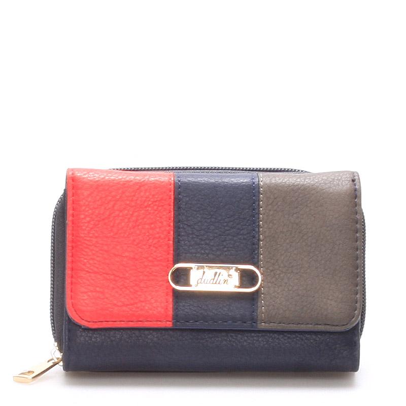 Prostorná dámská peněženka tmavě modrá - Dudlin M264