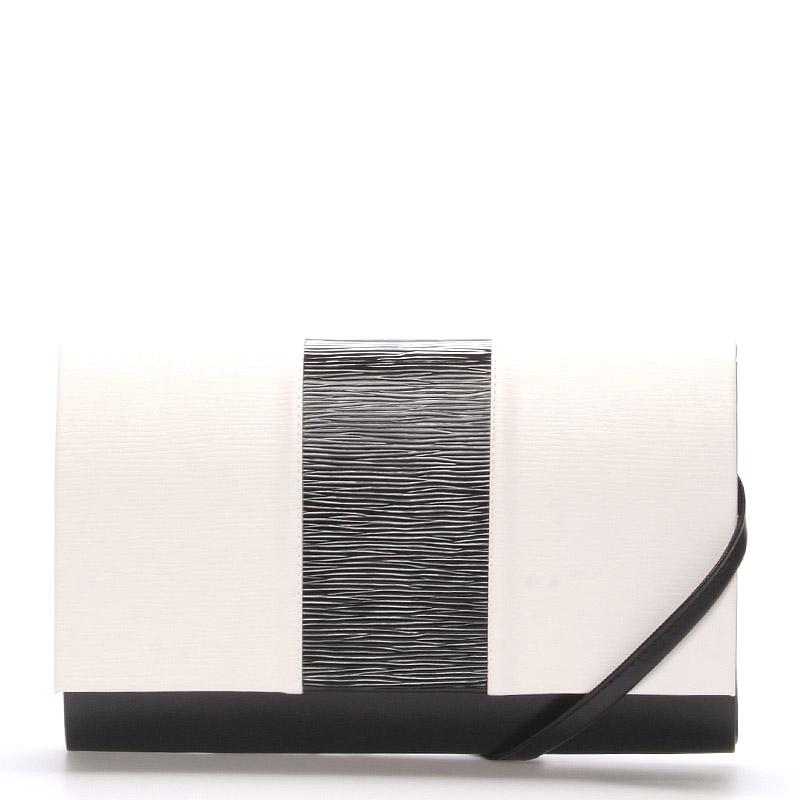 Luxusní černobílé psaníčko Royal Style Madison