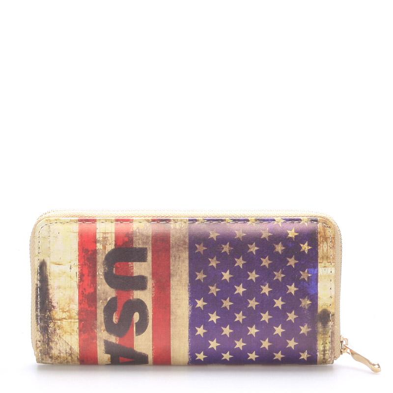 Originální a stylová peněženka - New Rebels USA
