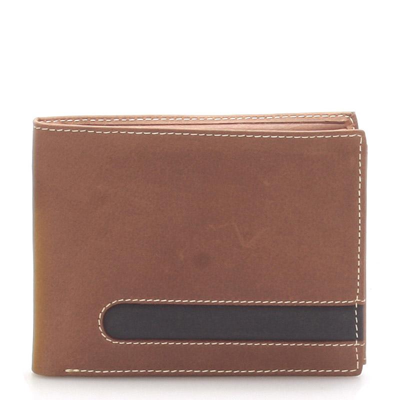 Kožená pánská hnědá peněženka - ItParr
