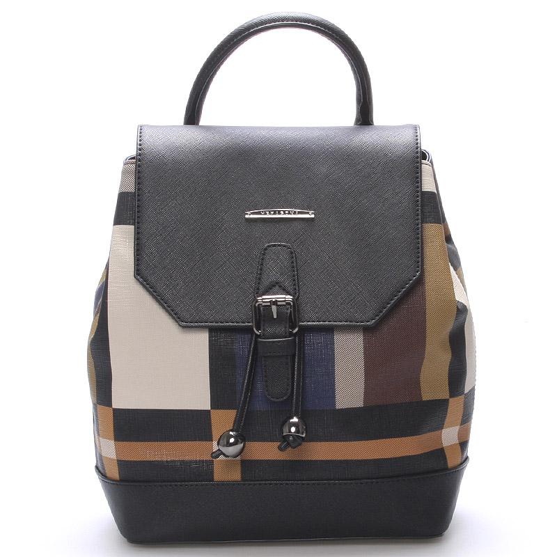 Moderní jedinečný luxusní městský batůžek barevný - Hexagona Duo