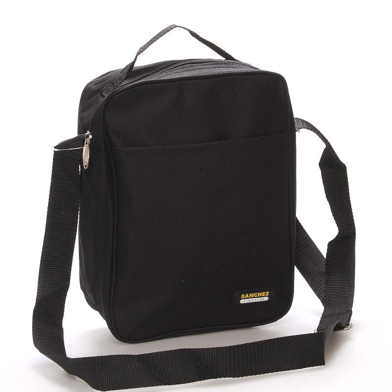 Černá pánská taška na doklady - Sanchez Marcos