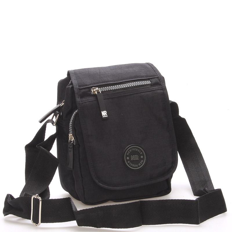 Malá sportovní taška na doklady černá - New Rebels Jacob