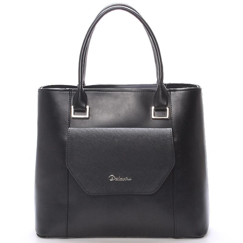Dámská luxusní kabelka černá  - Maggio Marcelle