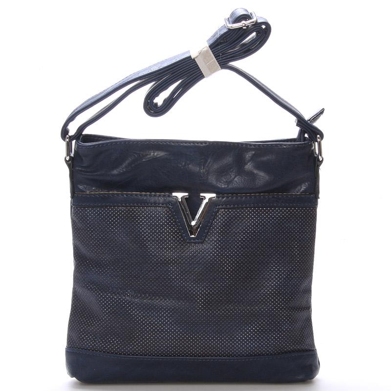Dámská crossbody kabelka tmavě modrá - Delami Youth