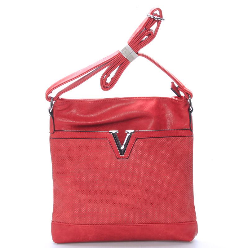 Dámská crossbody kabelka červená - Delami Youth