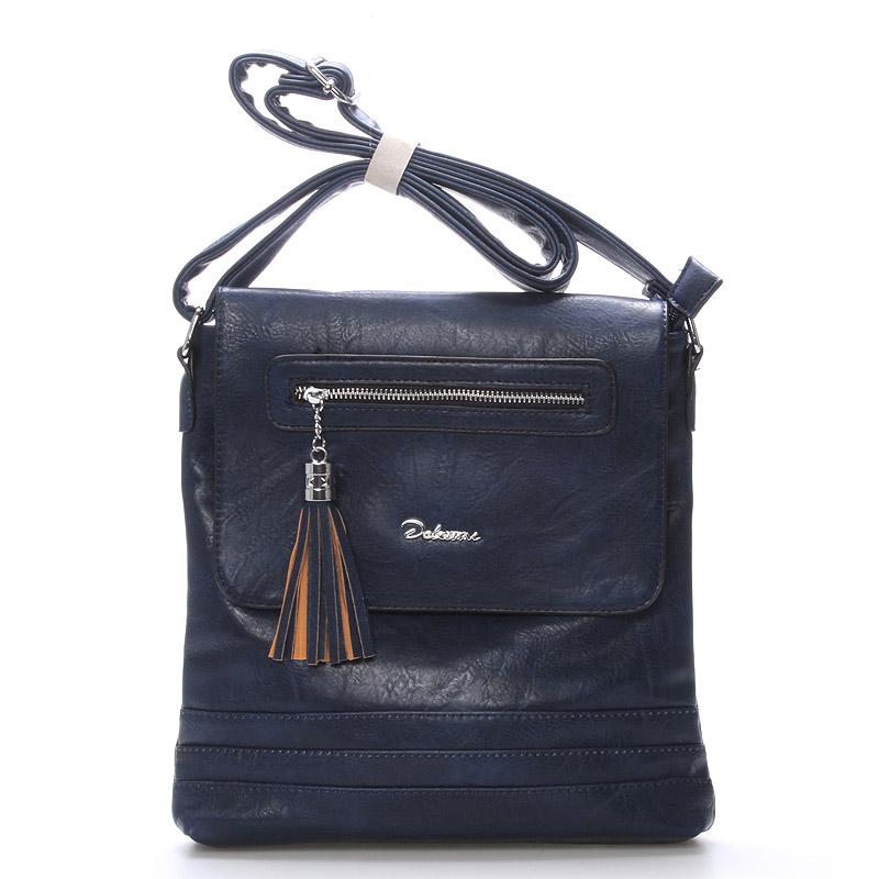 Dámská crossbody kabelka tmavě modrá - Delami Sun
