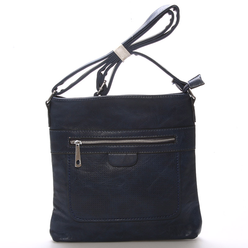 Dámská crossbody kabelka tmavě modrá - Delami Phoebe
