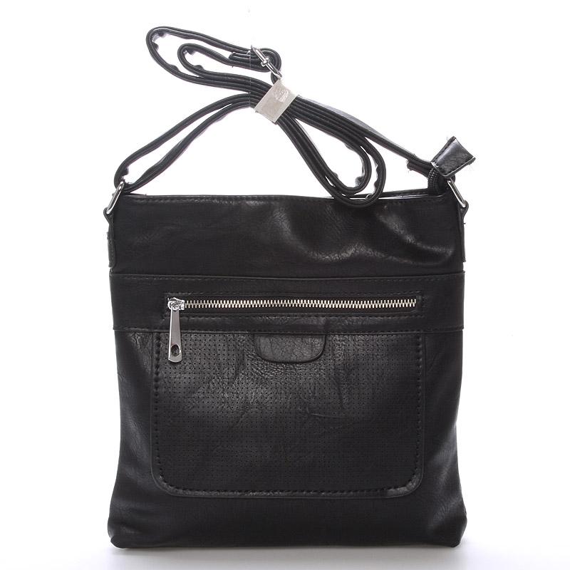 Dámská crossbody kabelka černá - Delami Phoebe