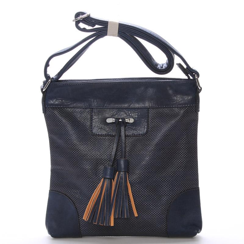 Dámská crossbody kabelka tmavě modrá - Delami Whip