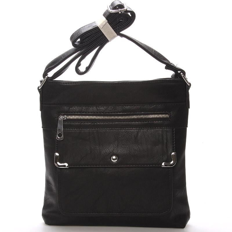 Dámská crossbody kabelka černá - Delami Strong
