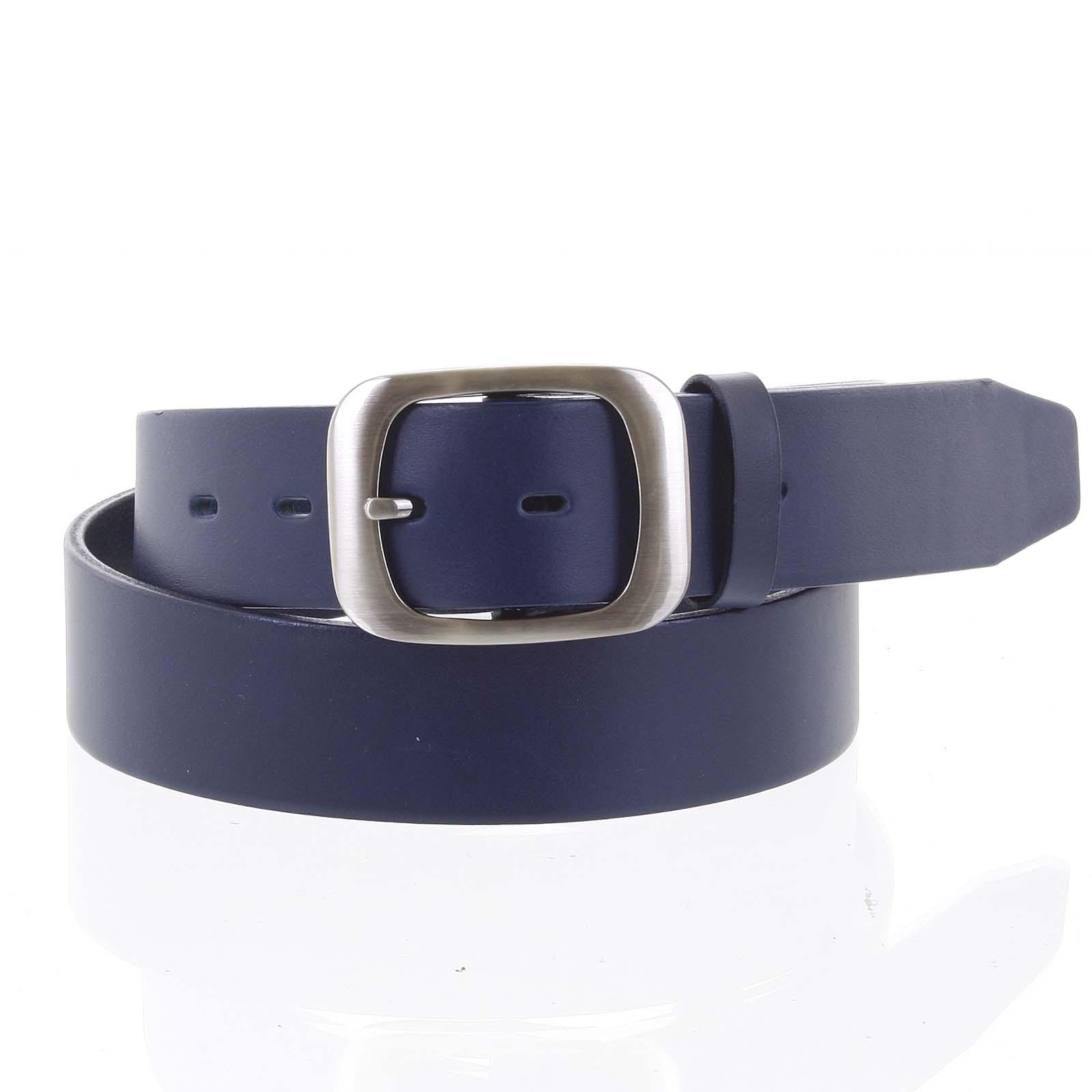 Dámský kožený opasek modrý - PB Sinim 100