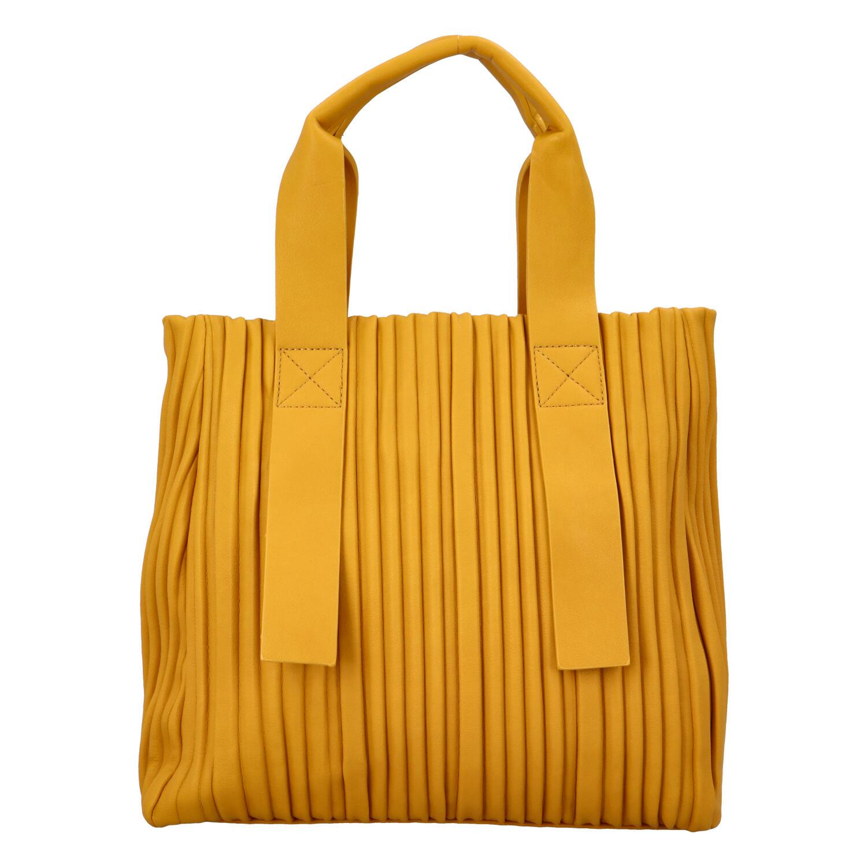 Dámská kabelka žlutá - Paolo Bags Calagata